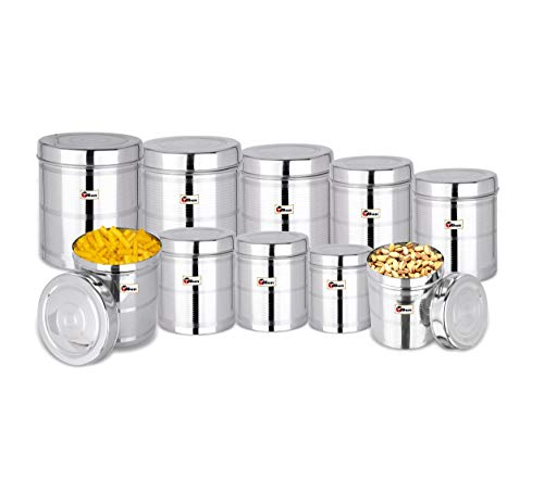 Ebun-Stainless-Steel-Containers-for-Kitchen-Storage-Silver-Touch-Lining-Steel-Dabba-Set-for-Kitchen-Combo-of-9-Dabba
