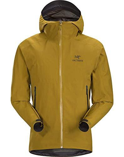 (Arc'teryx Men's Zeta Sl Jacket, Yukon, Tan, Large)