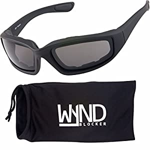 WYND Blocker Polarized Motorcycle & Fishing Floating Sports Wrap Sunglasses