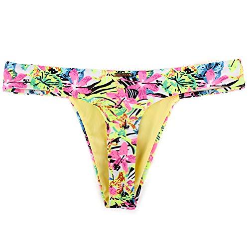 RELLECIGA Women's Jungle Triple Strappy Bikini Thong Bottom Size Small by RELLECIGA (Image #5)