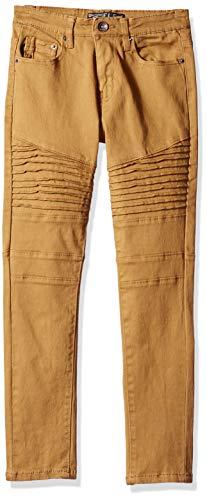 Southpole Kids Jeans - Southpole - Kids Boys' Big Flex Twill Jeans, Tobacco Biker, 14