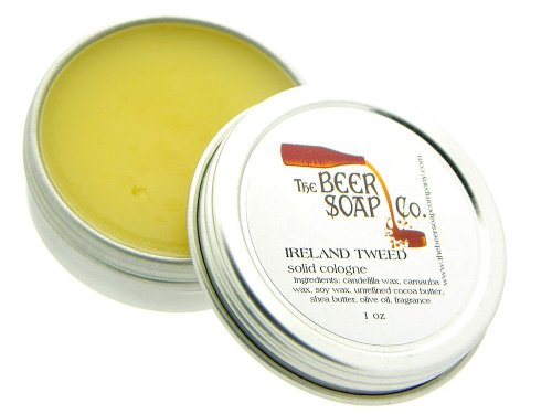 Ireland Tweed Solid Cologne by The Beer Soap Company - 1 (Cologne Soap)