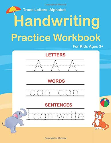 Trace Letters Handwriting Kindergarten handwriting product image