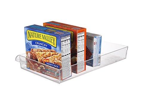 Scottys (TM) Refrigerator, Freezer, and Pantry Storage Organizer Bin - Great to Organize Your Fridge and Whole Kitchen -BPA Free (14.5 x 8 x 2 Inches)