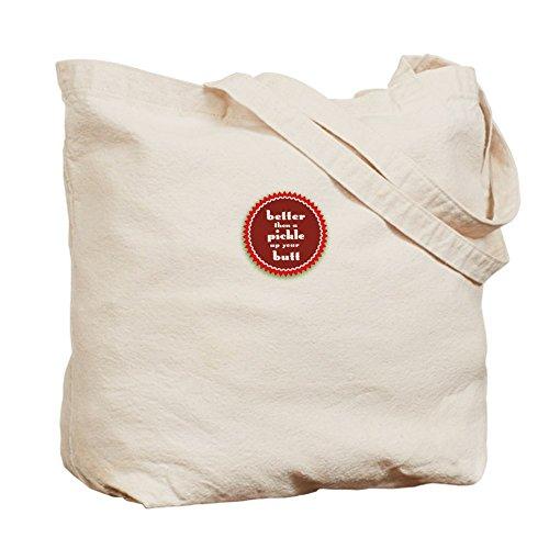 CafePress–Pickle–Gamuza de bolsa de lona bolsa, bolsa de la compra