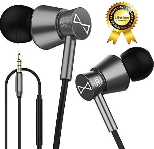 Marsno Headphones Earphones Definition Isolating product image