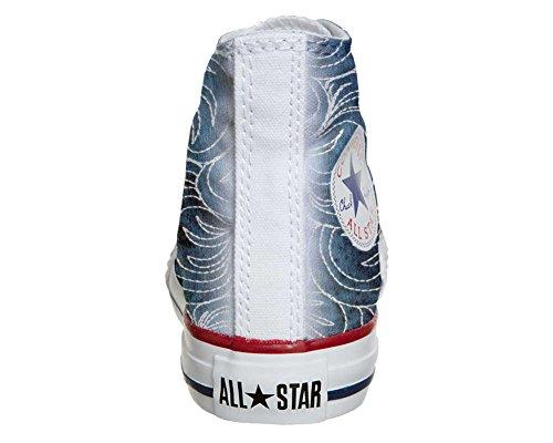 Converse All Star Customized - zapatos personalizados (Producto Artesano) Spake Paisley