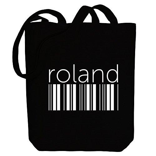 Idakoos Roland barcode - Männliche Namen - Bereich für Taschen h1Snh5