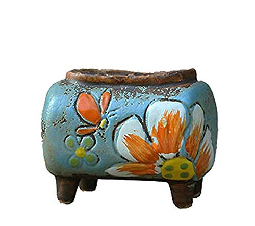 (Yun-Guand 1 Piece Mini Succulents Planter Tiny Pot Succulents/Plant/Bonsai Pots,3 PCS Mix)
