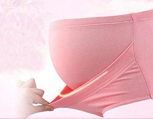 Maternité Culottes, Possec Femme Coton Vêtements Grossesse Sous-vêtements Haute - taille Culottes