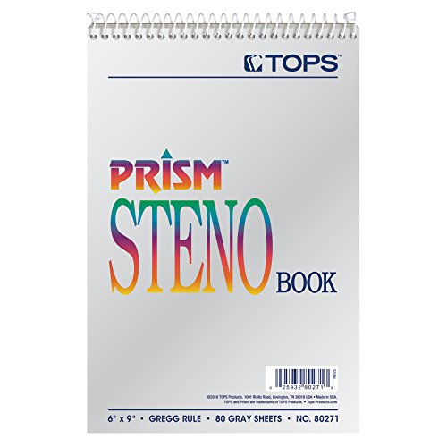 6x9 Gregg Ruled Steno Notebook - 4