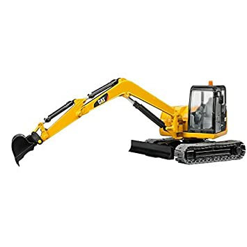 Bruder 02456 Cat Mini Excavator Toy By Bruder Figures Amazon Canada