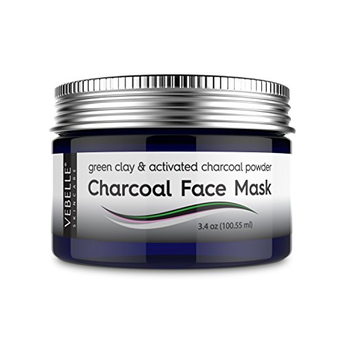 Charcoal Face Mask by VEBELLE the Anti Aging Company - Green