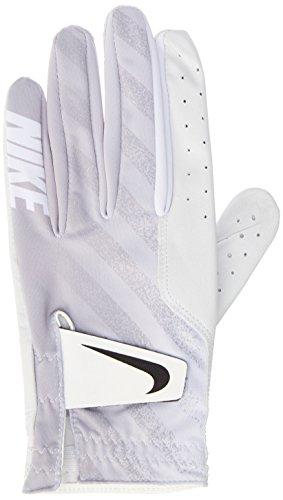 NIKE Tech Golf Gloves 2017 Regular White/Black/Wolf Gray Fit to Left Hand XX-Large ()