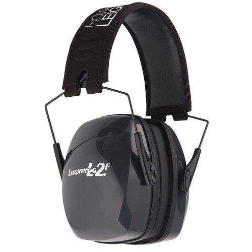 Howard Leight Leightning L2F Earmuff, Black, NRR 27, Folding R-01525 by Howard Leight