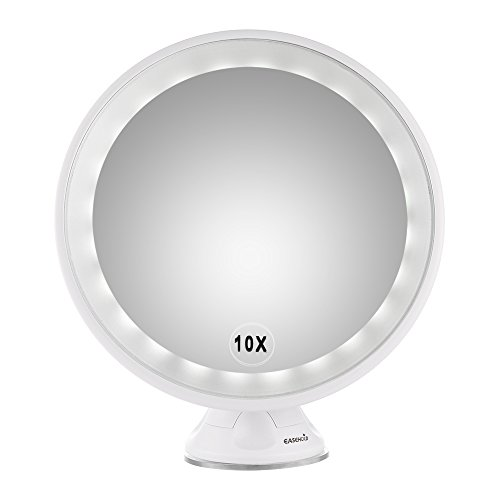 Wall Mounted Led Lighted Magnifying Mirror - 9