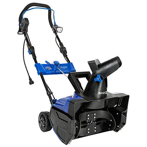 Snow Joe SJ619E 14.5 Amp Electric Snow Thrower with Light, 18'