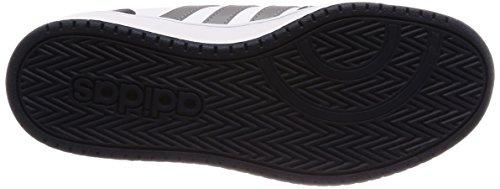 adidas Vs Hoops 2.0 K, Zapatillas de Gimnasia Unisex Niños Blanco (Ftwbla / Gritre / Maruni 000)