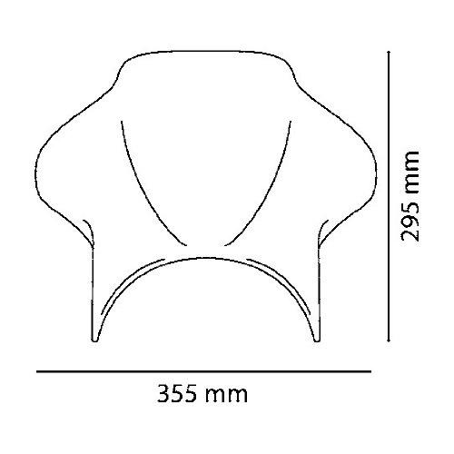 Saute vent Puig Cockpit pour BMW R 100 R 91-96 fum/é clair