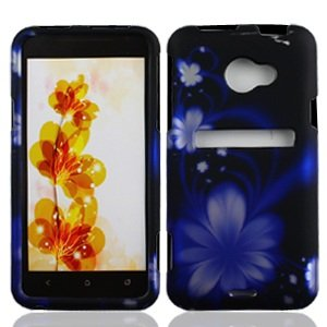 boundle-accessory-for-sprint-htc-evo-4g-lte-blue-daisy-designer-hard-case-protector-cover-lf-stylus-