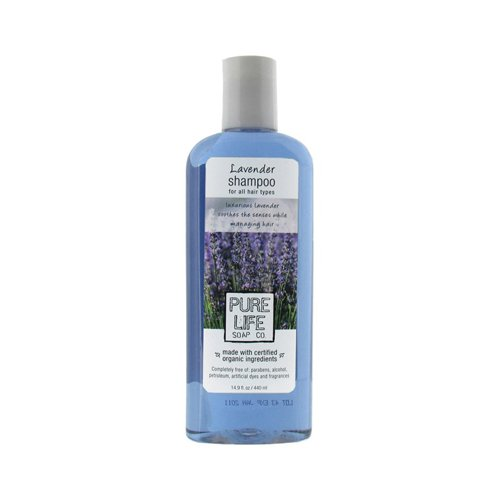 Wholesale Pure Life Shampoo Lavender - 14.9 fl oz, [Bathroom, Shampoo & Conditioning]