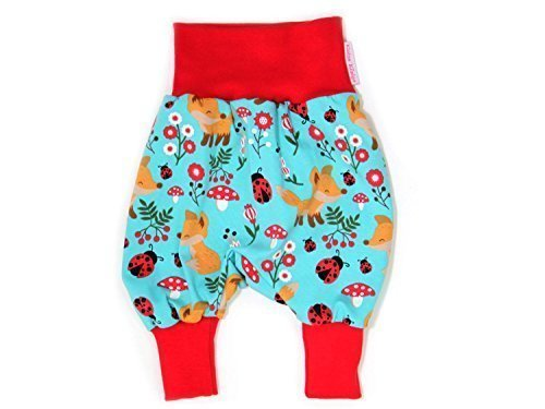 Baby Baggy Pants Little Fox harem pants jersey trousers baby pants Little Kings