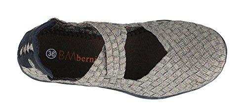 Bernie Mev Womens Mästare Slip-on Tillfälligt Sko Brons