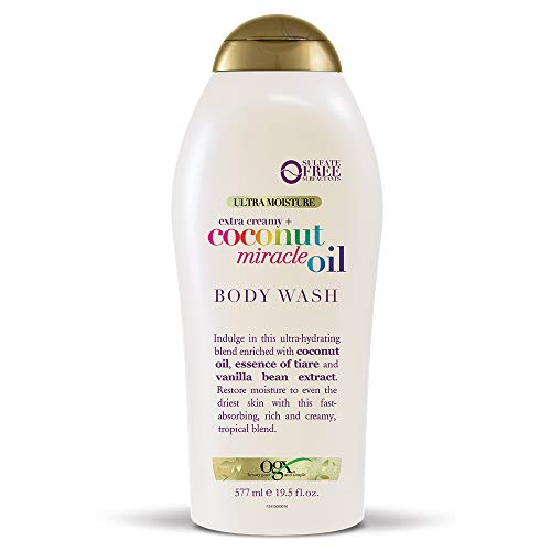 - OGX Extra Creamy + Coconut Miracle Oil Ultra Moisture Lotion, 19.5 Ounce