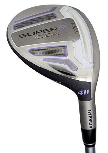 Adams Golf Ladies Speedline Super S Black Hybrid 22#4 Ladies Flex -