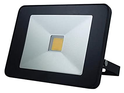 30 W Perel LEDA5003NW-BM Design-LED-Strahler mit Bewegungsmelder Neutralwei/ß,