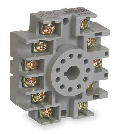 Dayton 6X156 Socket, Relay, 11 Pins