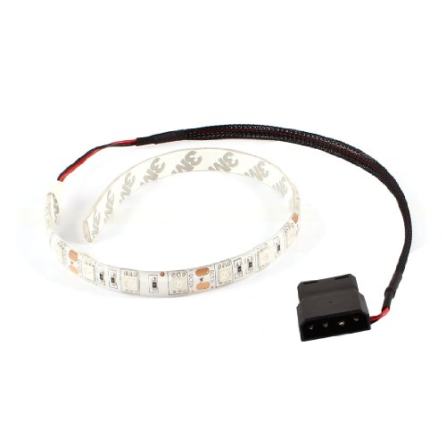 Tower Lamp Flare - Uxcell a13112200ux1085 Red 18 5050 LED Light Flexible Lamp Strip DC 12V for PC Computer Case