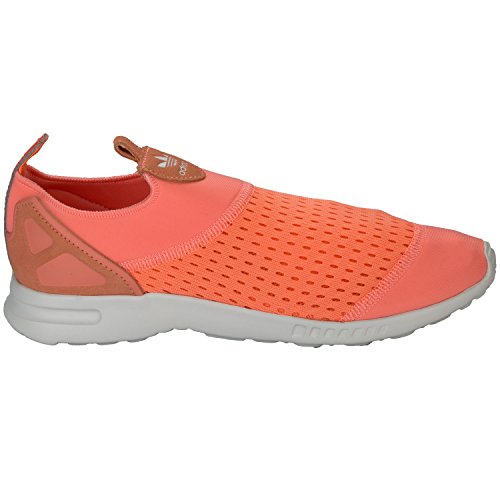 hot sale online bf69d 5c56e adidas Originals Womens ZX Flux ADV Smooth Slip On Trainers - Import It All