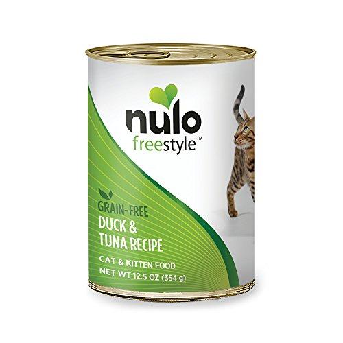 Nulo Adult & Kitten Grain Free Canned Wet Cat Food (Duck & Tuna Recipe, 12.5 Oz, Case Of 12)