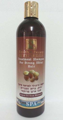 H&B Dead Sea Moroccan Aragan Oil Treatment Shampoo 400ml