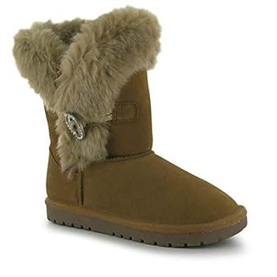 Amazon.com | SoulCal Kids Button Snug Boots Girls Winter