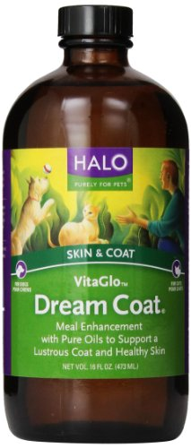 Halo Vita Glo Dream Coat Natural Supplement for Dogs and Cats, 16oz