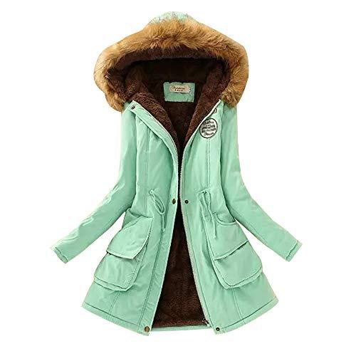 Capuche Manteaux Chaud Kindoyo Manteau Vert Vestes Veste Avec D'hiver Mode 1 Femmes Parka 15 Couleurs rvqrZ