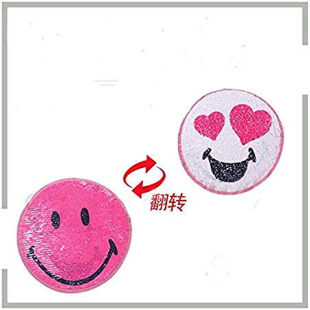 Amazon.com: Parches - 2019 Emoji Reversible Cambio Color ...