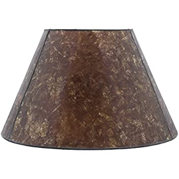 Upgradelights 12 Inch Mica Lamp Shade Replacement 7x12x7.5 (Washer ...