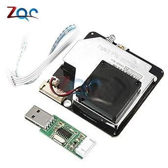 Nova PM Sensor SDS011 High Precision Laser PM2.5 Air Quality Detection Sensor Module Super Dust Sensors Digital Output with USB: Amazon.com: Industrial & ...
