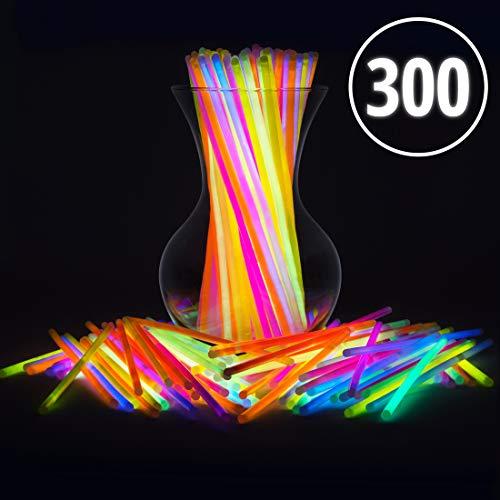 PartySticks Glow Sticks Bulk - 8