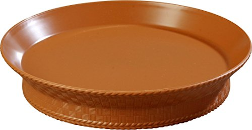 Carlisle 652731 WeaveWear Round Serving Basket, 10
