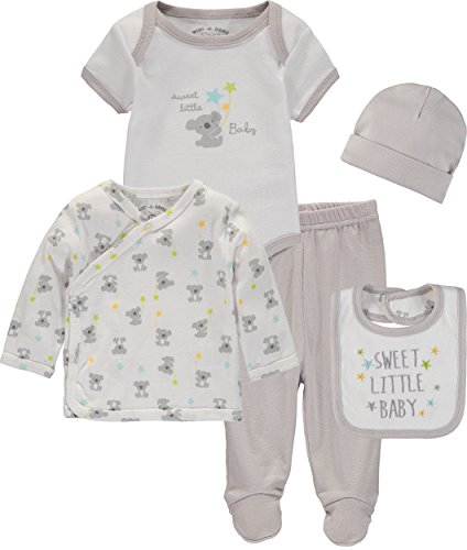 Wan-A-Beez Baby Boys' and Baby Girls' Take Me Home Set. Layette Gift Set for Newborns (Koala, 6 Months)
