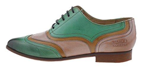 Chaussures Green Vert Ville Green Melvin Femme à pour Sweet amp; Lacets de Hamilton Sweet PTxqE1F