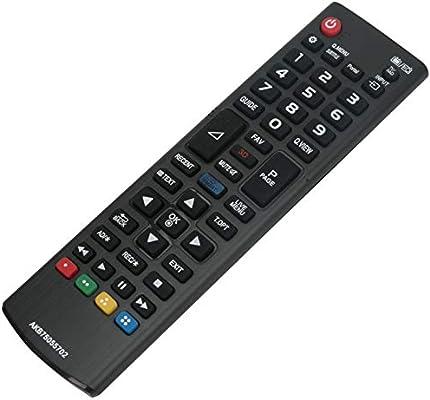 Mando a distancia ALLIMITY AKB75055702 para LG TV 19MN43D 22LX330C 22LY330C 22LY340C 22MA33D 32LS3590 32LW340C 32LX320C 42LB582V 42LB6200 42LB620V: Amazon.es: Electrónica
