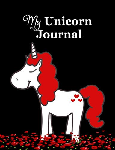 My Unicorn Journal: Composition Notebook College Ruled Blank Line Paper for School Kids Essays, Homework and Diary