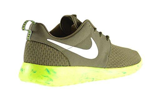 Nike Roshe Run M Heren Schoenen Medium Olijf / Wit-mc Groen-volt 669985-200 (9,5 D (m) Us)