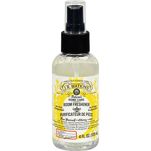 J.R. Watkins Room Freshener Lemon - 4 oz - Natural - Non Toxic - Eliminate odors in any room