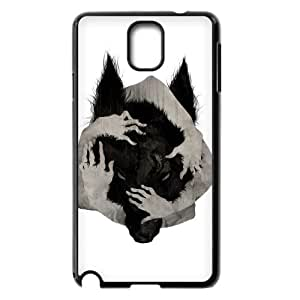 The Wolf Pattern Hard Case Cover Back Skin Protector for Samsung Galaxy Case Note 4 TSL330849